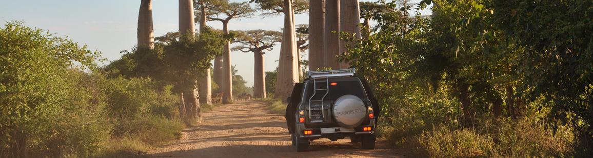 Car renting - Madagascar Mozaic Tour
